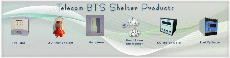BTS Shelter Products for Telecom applications
