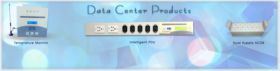 Intelligent Products with remote monitoring for server rooms